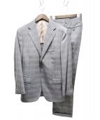 BEAMS(ビームス)の古着「DORMEUIL生地3Bスーツ」|グレー