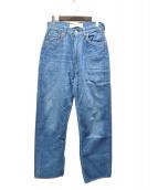 Shinzone(シンゾーン)の古着「HIGH WAIST DENIM PT」 ブルー