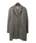 MaxMara(マックスマーラ)の古着「パイルテーラードコート」|グレー