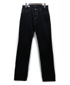 JIL SANDER(ジルサンダー)の古着「ストレッチジーンズ」|ブラック