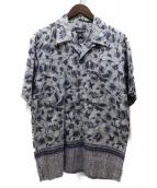 Patagonia(パタゴニア)の古着「90'Sヴィンテージアロハシャツ」|ネイビー
