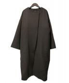 AP STUDIO(エーピーストゥディオ)の古着「オーバーサイズラムコート」|グレー