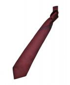 GIVENCHY(ジバンシィ)の古着「シルクネクタイ」|レッド