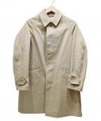 ORCIVAL()の古着「ステンカラーコート」 ベージュ