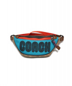 COACH(コーチ)の古着「Rivington belt bag」|ブラウン