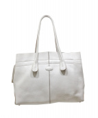 TODS(トッズ)の古着「D-BAG」 ホワイト