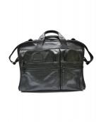 TUMI(トゥミ)の古着「ALPHAフルレザーブリーフケース」 ブラック