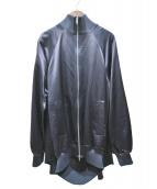 Maison Martin Margiela(メゾンマルタンマルジェラ)の古着「ロングボンバージャケット」|ネイビー