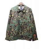 NIKE SB(ナイキエスビ)の古着「GORE-TAX JAGMO ジャケット」|オリーブ