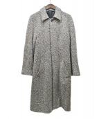 agnes b homme(アニエスベーオム)の古着「TT49 MANTEAUシルク混ツイードコート」|グレー
