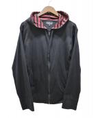 agnes b(アニエスベ)の古着「J000 BLOUSONジップパーカー」|ブラック
