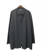 YS for men(ワイズフォーメン)の古着「オーバーサイズコート」 グレー