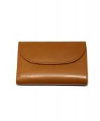 Whitehouse Cox(ホワイトハウスコックス)の古着「3つ折り財布」 ブラウン