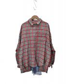 FRAPBOIS(フラボア)の古着「チュチェック」|レッド