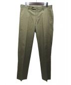 Paul Stuart(ポールスチュアート)の古着「20SS スラックス」|オリーブ