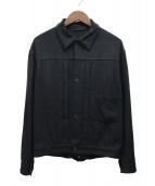 COMOLI(コモリ)の古着「20SS シルクネップTYPE-1ST」 ブラック