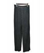 Ameri VINTAGE(アメリビンテージ)の古着「OTONA PLEAT PANTS」 ブラック