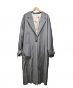 TELA(テラ)の古着「18SS ウエストリボンコート」|グレー