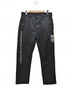 Supreme×Undercover(シュプリーム×アンダーカバー)の古着「18SS PUBLIC ENEMY PANTS」|ブラック