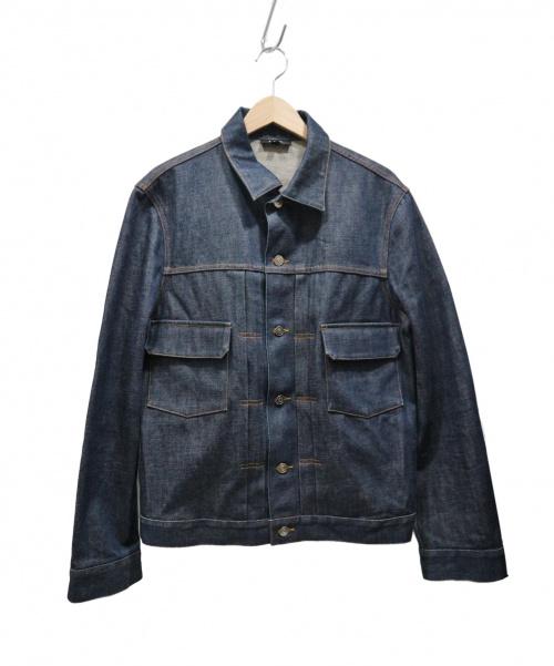A.P.C.(アーペーセー)A.P.C. (アーベーセ) 2ndタイプデニムジャケット ネイビー サイズ:SIZE 3 日本製の古着・服飾アイテム