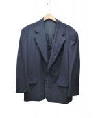 COMME des GARCONS HommePlus(コムデギャルソンオムプリュス)の古着「90sポケットラペルテーラードジャケット」|ネイビー