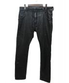 DIESEL(ディーゼル)の古着「加工ストレッチジョグジーンズ」|ブラック