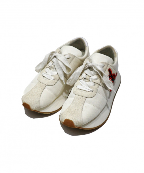 MARNI(マルニ)MARNI (マルニ) Black Big Foot sneakers ホワイト サイズ:SIZE 43 イタリア製 Dance Bunny 箱・布袋付 SNZU003104の古着・服飾アイテム