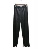 PLEATS PLEASE(プリーツプリーズ)の古着「プリーツパンツ」|ブラック