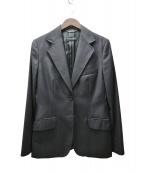 DOLCE & GABBANA(ドルチェアンドガッバーナ)の古着「カシミア混テーラードジャケット」|ブラック