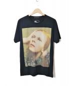 Thee Hysteric XXX(ジィ ヒステリック トリプルエックス)の古着「BOWIEプリントTシャツ」|ブラック
