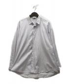 ()の古着「double-buttoned shirts」|スカイブルー