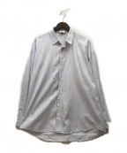 THEE(シー)の古着「double-buttoned shirts」|スカイブルー