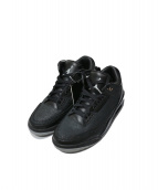 NIKE(ナイキ)の古着「AIR JORDAN 3 RETRO FLIP」|ブラック
