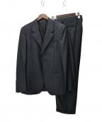 EMPORIO ARMANI()の古着「ストライプセットアップスーツ」|ネイビー