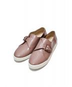 COLE HAAN(コールハーン)の古着「グランドプロ スペクテイターモンク」|ピンク