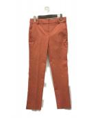 ()の古着「Stretch Canvas Tailored Trouse」|オレンジ