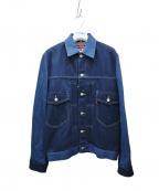eYe COMME des GARCONS JUNYAWAT(コム デ ギャルソン ジュンヤ ワタナベ マン)の古着「Levis/リーバイス コラボデニムジャケット」 ブルー