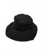 Ys(ワイズ)の古着「リネンハット」|ブラック
