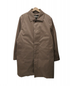 EDIFICE(エディフィス)の古着「KOMATSU STRETCH 2WAY ステンカラーコート」|ベージュ