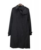 BURBERRY LONDON(バーバリーロンドン)の古着「ライナー付きノバチェックコート」|ブラック