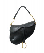 Christian Dior(クリスチャンディオール)の古着「サドルバッグ」|ブラック