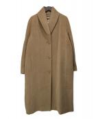MaxMara(マックスマーラ)の古着「カシミア混コート」|ベージュ