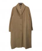 MaxMara(マックスマーラ)の古着「カシミア混コート」 ベージュ