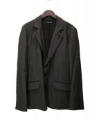 FRANK LEDER(フランクリーダー)の古着「ウールテーラードジャケット」|ブラウン