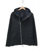 wjk(ダブルジェイケイ)の古着「ジップアップジャケット」 ブラック