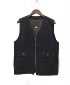 Trophy Clothing(トロフィークロージング)の古着「ブラッキーベスト」|ブラック