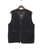 Trophy Clothing(トロフィークロージング)の古着「ブラッキーベスト」 ブラック
