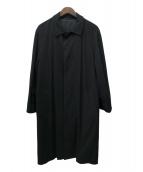 Ermenegildo Zegna(エルメネジルドゼニア)の古着「カシミヤステンカラーコート」 ブラック