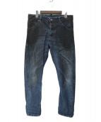 DSQUARED2(ディースクエアード)の古着「ダメージ加工デニムパンツ」|インディゴ