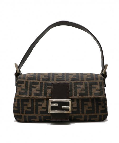 FENDI(フェンディ)FENDI (フェンディ) ズッカ柄バケットバッグ ブラウン サイズ:表記なし 26424-008の古着・服飾アイテム